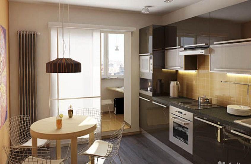 Дизайн кухонь в п111м.