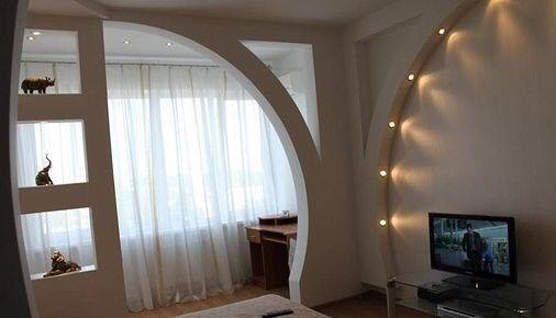 Балконные арки фото