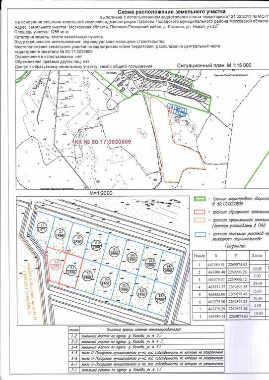 Фото схема расположения земельного участка на кадастровом плане