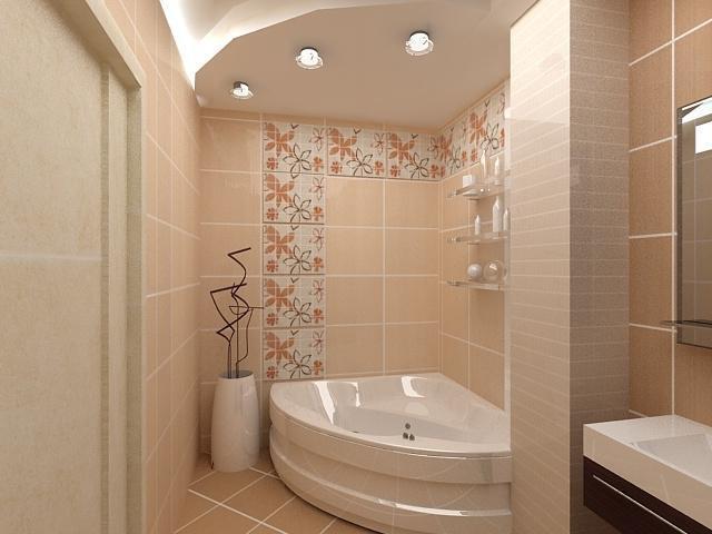 Светлая плитка в ванную комнату дизайн