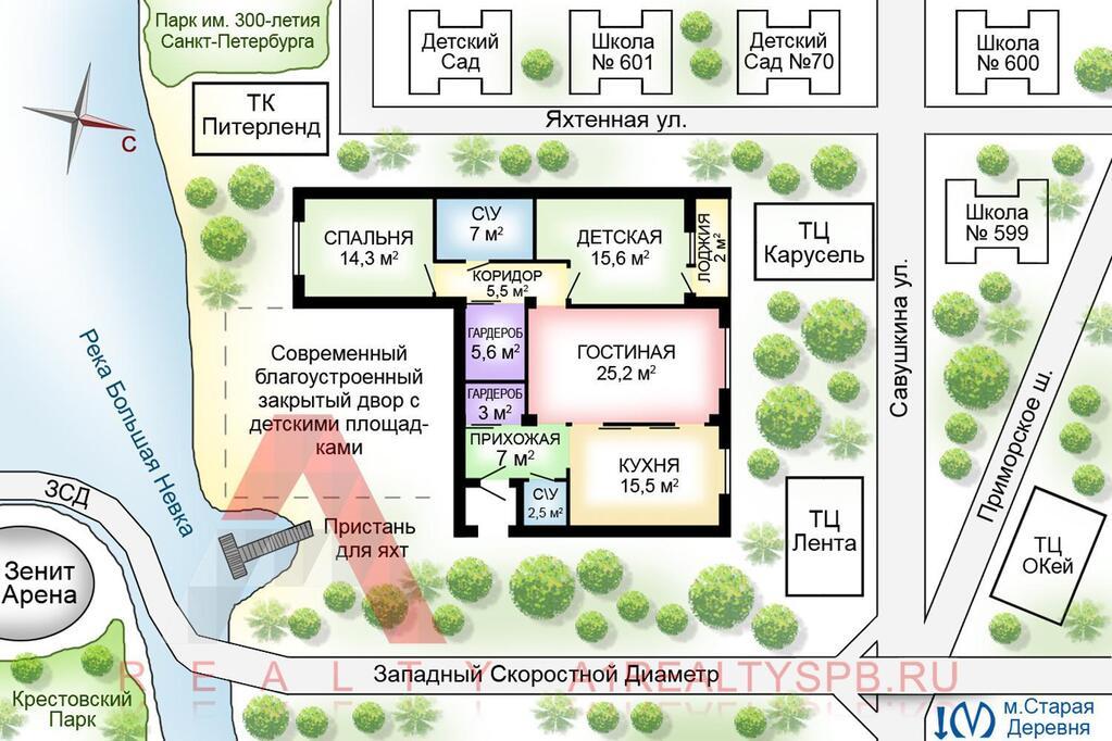 ЖК Золотая гавань Приморский квартиры от продавца