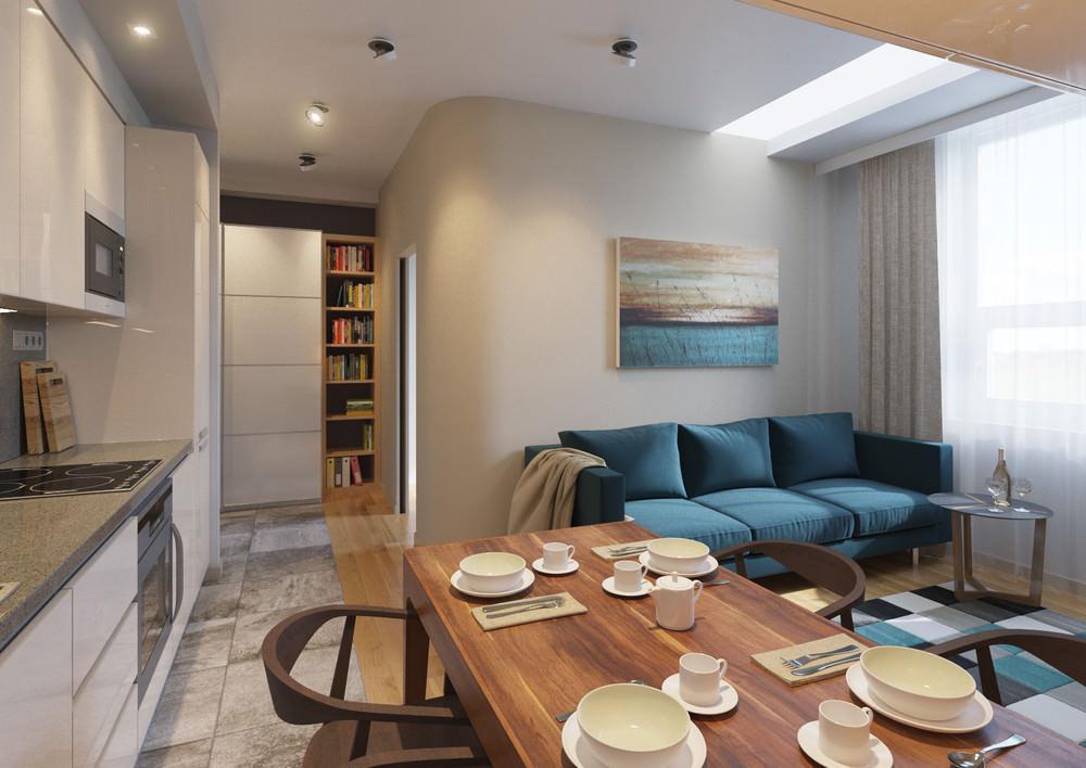 Дизайн квартиры 22 кв м