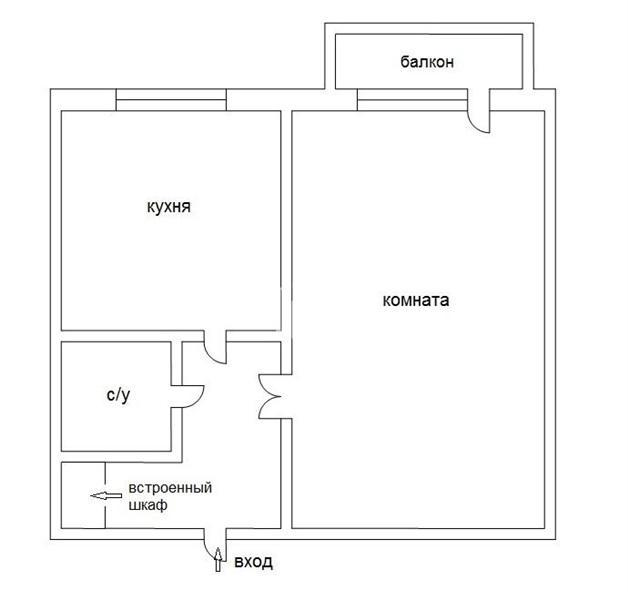 1к квартира ленина (ном. объекта: 14874), купить квартиру в .