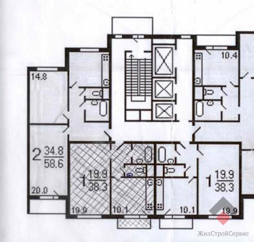 1к.кв, лукинская, 18к1, купить квартиру в москве по недорого.