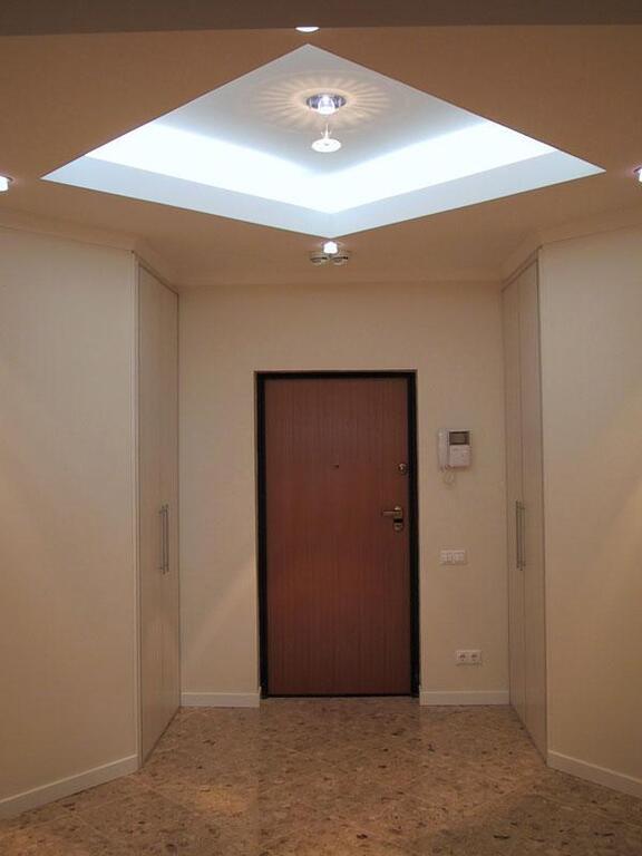 Потолок из гипсокартона прихожая фото