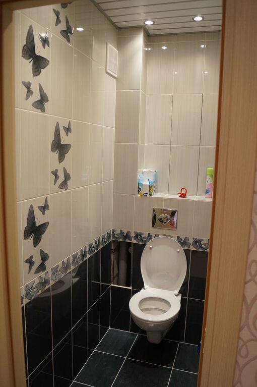 Как сделать ремонт в туалете с фото