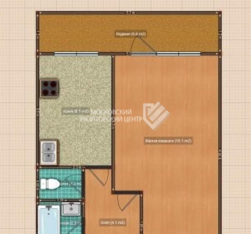 Продажа 1-к квартиры, 6-я парковая, д.13, купить квартиру в .