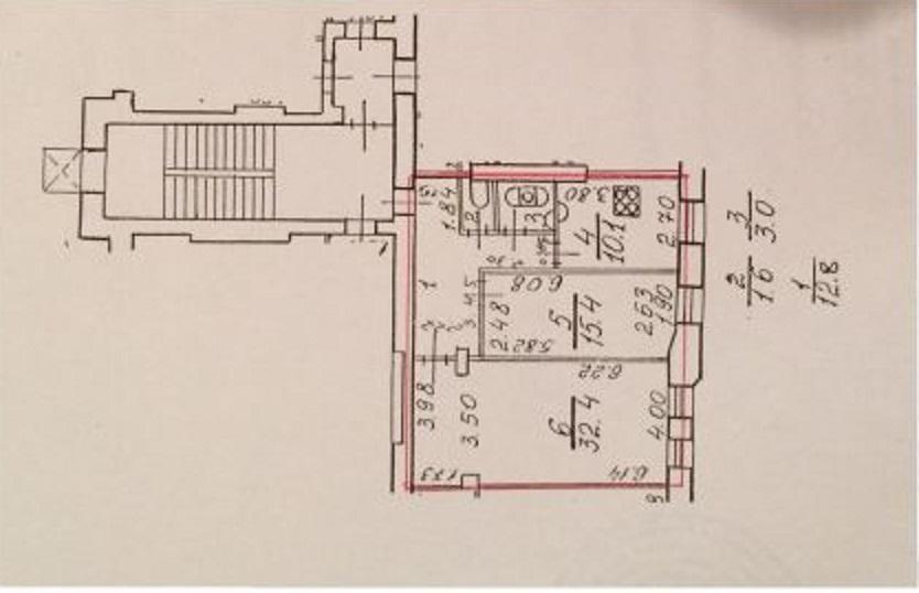 Объявление о продаже двухкомнатной квартиры площадью 550 квм ул блохина д 23, г санкт-петербург