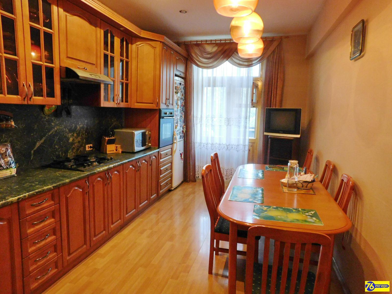 Продажа 3-комнатной квартиры, ярославль, улица строителей, 16к3