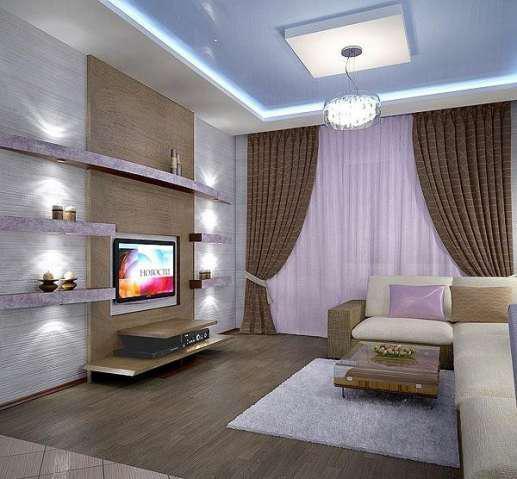 Дизайн квартиры зал 16 кв м