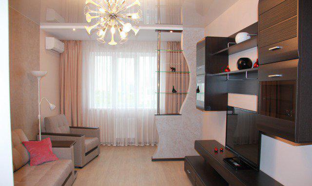 Дизайн зала в квартире фото реальные