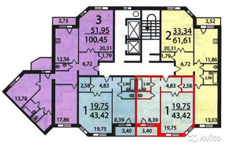 3 200 000 Руб., Продам квартиру, Купить квартиру в Чехове по недорогой цене, ID объекта - 318152070