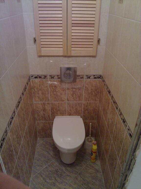 Ремонт в туалете и ванной своими руками