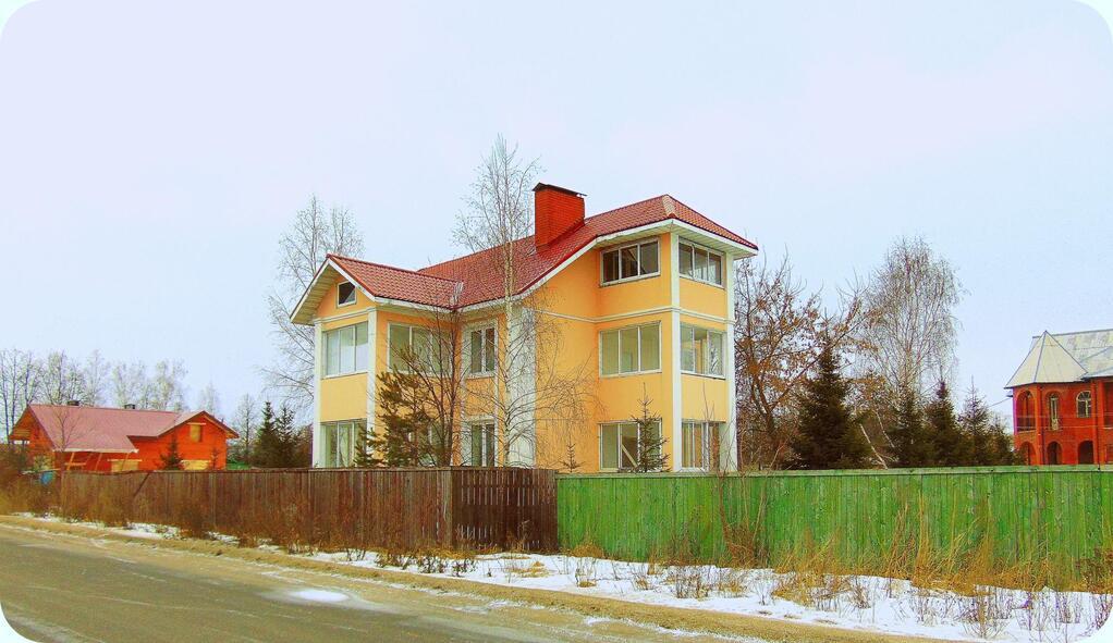 Дом в звенигороде на новый год