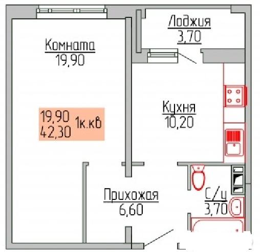 Продажа 3-комнатной квартиры, ярославская обл, ярославль г, титова ул, 4к3