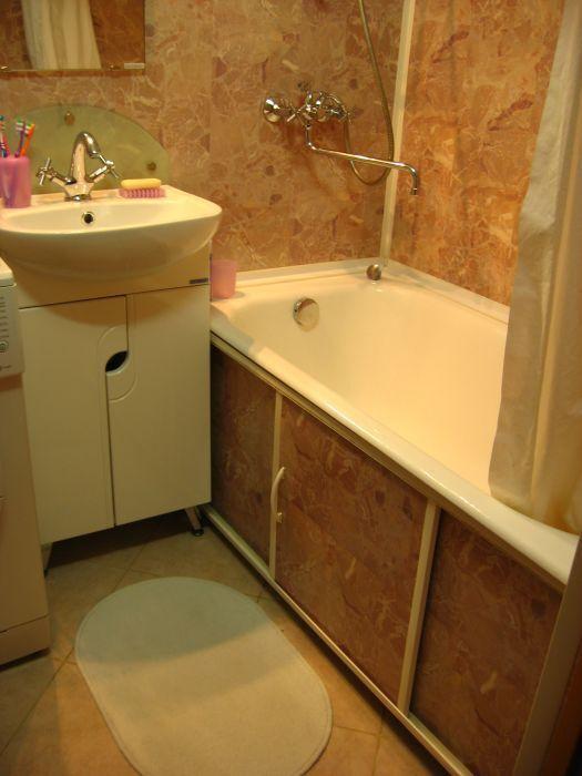 Ремонт ванной комнаты в брежневке - Интерьер ванной