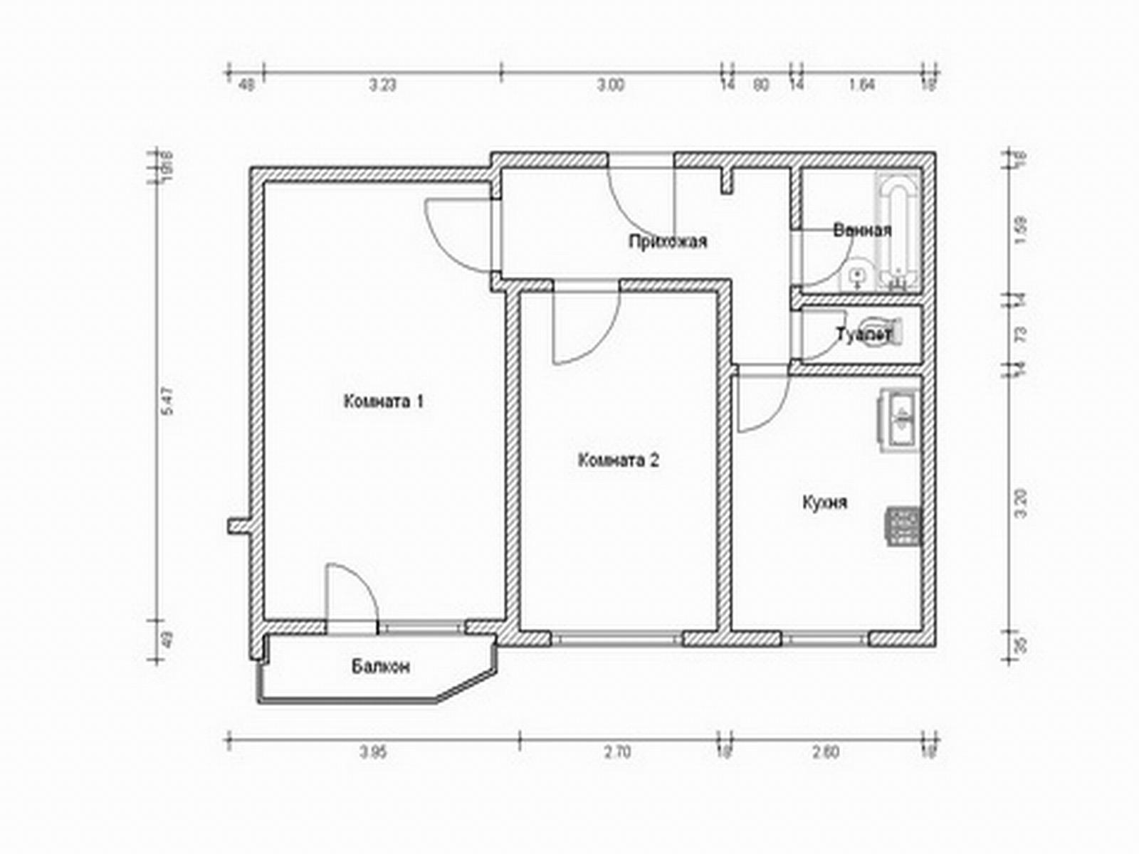 Аренда двухкомнатной квартиры 52 м? на улице раменки, д. 9к3.