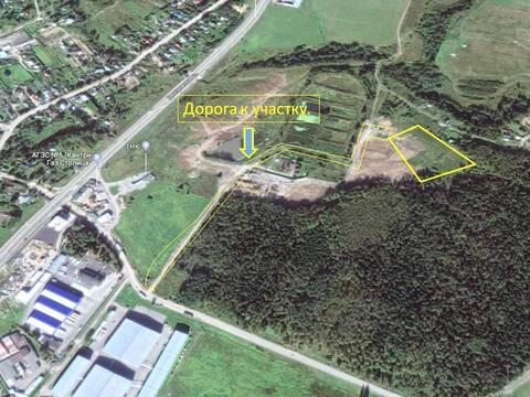 Земельный участок 1 Га. 20 км. от МКАД - Фото 1