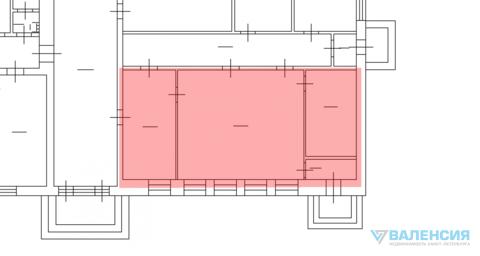 Аренда универсального помещения 85,1м2, 1эт, в Приморском р-не. - Фото 4