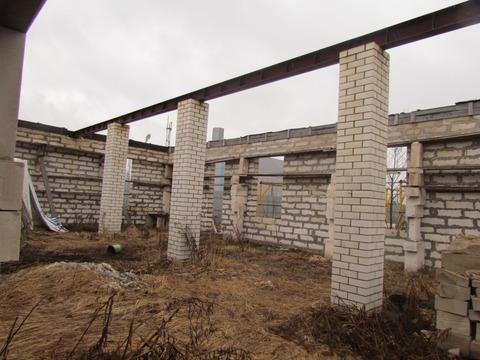 Производственное помещение (недострой) на участке пром.назначения 25 с - Фото 4