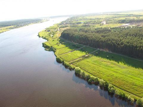 Участок рядом р.Волга и сосновым бором - Фото 2