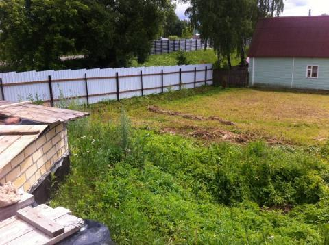 Участок с фундаментом, баней, газом в г. Конаково. - Фото 2