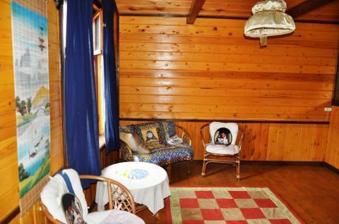 Дом с баней в деревне у озера, участок 19 соток для ИЖС, д.Бабурино - Фото 4