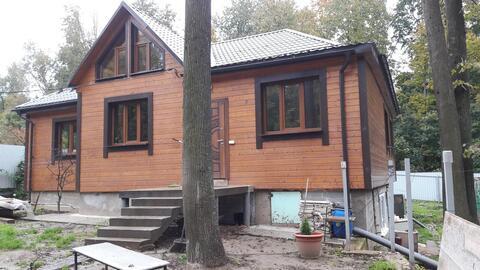 Дом 200м с участком 11 соток в д. Лапшинка, 8 км от МКАД - Фото 2