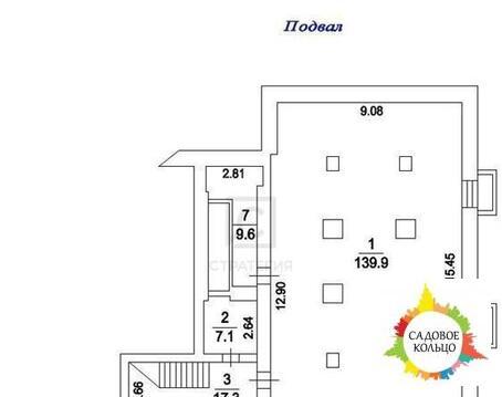 Псн (маг-н/офис/услуги), цокольн. эт. с окнами, зальн. план, выс. пот - Фото 3