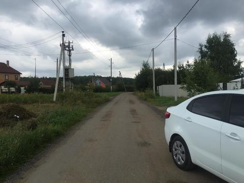 12 соток д.Поповка Чеховского района - Фото 3