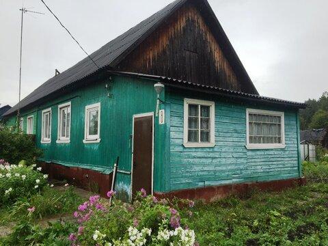 1/2 часть дома. Ленинградское ш. 96 км от МКАД.п. Ямуга - Фото 1