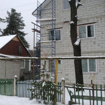 Продам недостроенный дом в прекрасном месте. - Фото 1