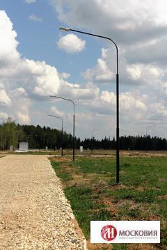 Участок 10 соток в поселке, окруженном лесом, 38 км по Киевскому ш. - Фото 3