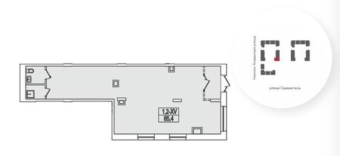 Псн в собственность 209.6 м2, м.Теплый Стан - Фото 1