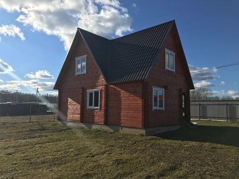 Новый дом из бруса, 120 кв.м, д. Слепушкино Чеховский район - Фото 1