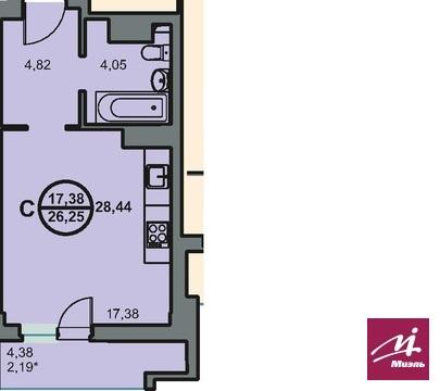Продается 1ком кв ул Новоремесленная 13, Купить квартиру в Волгограде по недорогой цене, ID объекта - 321745473 - Фото 1