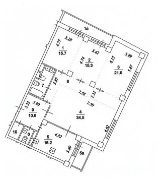Продам 4-комн. квартиру 140 м2, м.Зорге - Фото 2