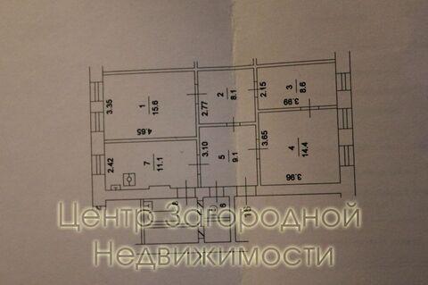Трехкомнатная Квартира Москва, улица Большая Ордынка, д.7, ЦАО - . - Фото 4