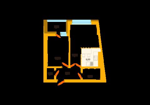 Квартира в центре «ЖК Аксаковский» - Фото 1