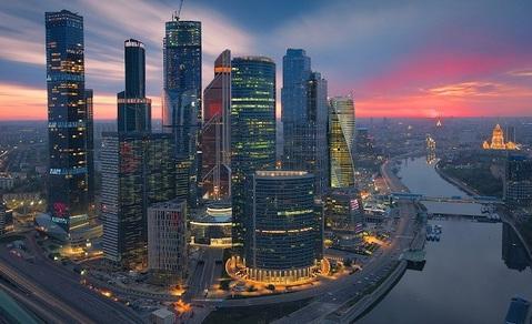 Москва-Сити. Видовой sky-офис 198м2 на 5 кабинетов - Фото 1