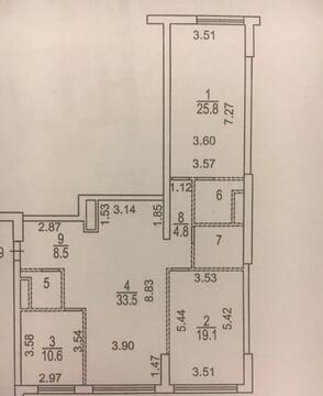 Продаётся 3-х комнатная квартира в ЖК бизнес класса. - Фото 3