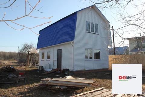 Бревенчатый дом 100 кв.м. - Фото 1