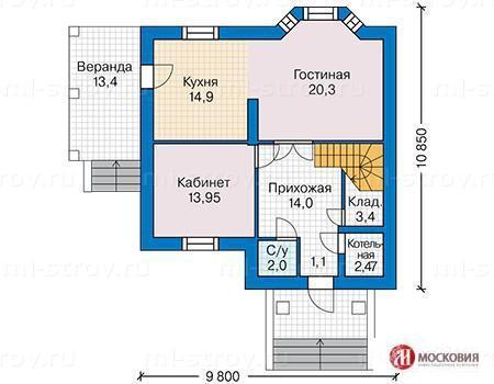 Загородный дом 141 кв.м. 20соток , 30 км от МКАД по Калужскому шоссе - Фото 2