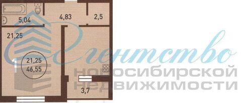 Продажа квартиры, Новосибирск, м. Гагаринская, Ул. Мичурина - Фото 3