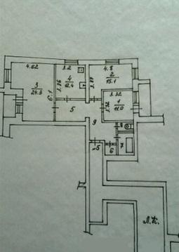 Продается 3-комнатная квартира 88.2 кв.м. на ул. Суворова - Фото 3