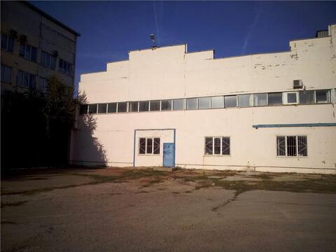 Цех 1470 м2 с кран-балкой, офис и з\у по ул.Тихорецкой. - Фото 1