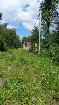 Симферопоьлкое шоссе 47 км. участок в деревне с лесными деревьями - Фото 4