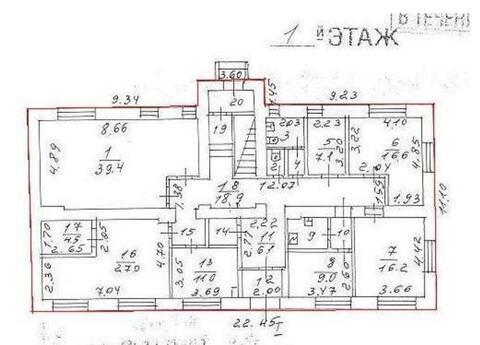 Аренда 2-х этажного отдельно-стоящего здания Общая площадь помещений- - Фото 4
