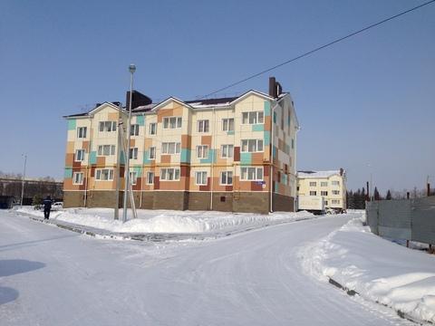 Отличная 3-х комн. квартира в новом доме в мкр. Спутник с. Чесноковка - Фото 2