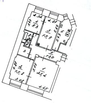 Продаётся 4-х комнатная квартира в центре Москвы - Фото 4